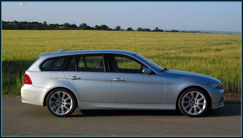 My 335i Sports Wagon  unique and discreet powerful style